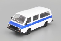 1:43 # 74 РАФ-22038 «Латвия» - белый с синим