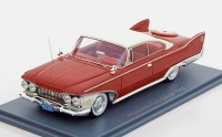 1:43 PLYMOUTH Fury Hardtop Coupe 2-Door 1960 Red/White