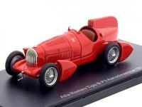 1:43 ALFA ROMEO P3 Tipo B Aerodinamica 1934 Red