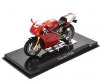 1:24 мотоцикл DUCATI 998R Red