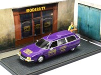 "1:43 CITROEN CX Break ""Magasin radio - tele"" 1977 Purple"