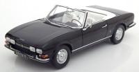 1:18 PEUGEOT 504 Cabriolet 1971 Black