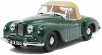 1:43 JOWETT Jupiter SA 1950 British Racing Green