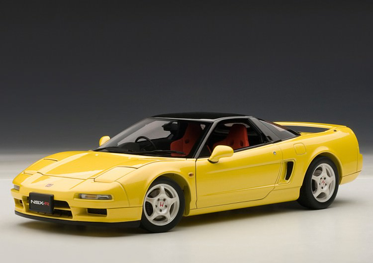 1:18 Honda NSX Type R 1992 (indy yellow pearl)