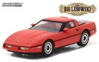 "1:43 CHEVROLET Corvette C4 1985 машина Ларри Селлерса (из к/ф ""Большой Лебовски"")"