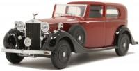 1:43 ROLLS ROYCE Phantom Ill SDV H.J Mulliner 1937 Dark Red/Black