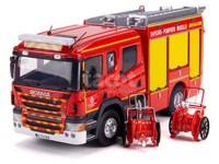 1:43 SCANIA P280 Cabine CP 31 High FPT Heinis SDIS 57 (пожарный) 2019