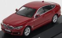 1:43 BMW 3 series GT (F34) [с открывающимися капотом и багажником] (red)