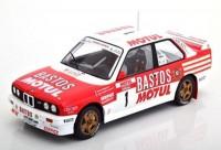 """1:18 BMW M3 (E30) #1 """"Bastos Motul"""" Beguin/ Lenne Rally Tour de Corse 1988"""