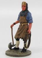 1:32 Французский пожарный-доброволец г.Страсбург 1780