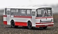 1:43 ЛАЗ-695Н бело-красный