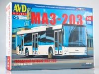 1:43 Сборная модель МАЗ-203