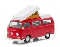 1:64 VW T2b Camper Van (кемпер) 1968 Red/White