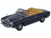 1:43 ROLLS ROYCE Corniche Convertible 1971 Indigo Blue