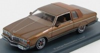 1:43 PONTIAC Bonneville Brougham 2-d 1980 Brown Metallic/Brown
