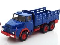 1:43 HENSCHEL HS 3-14 6x6 (бортовой грузовик) 1967 Blue/Red