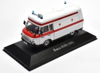 1:43 BARKAS B1000 SMH-3 Ambulance 1965 White/Red