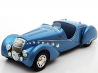 1:18 PEUGEOT 302 Darl'Mat Roadster 1937 Blue Metallic