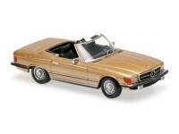 1:43 Mercedes-Benz 350 SL (R107) 1974 (gold)
