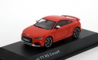 1:43 AUDI TT RS Coupe 2017 Catalunya Red