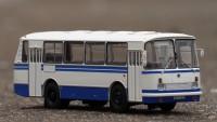 1:43 ЛАЗ-695Н бело-синий