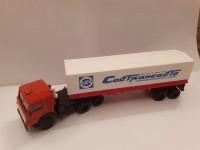1:43 КАМский грузовик-5410 c полуприцепом Совтрансавто (тент)