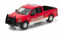 1:64 FORD F-150 Fire & Rescue Special Service (пожарный) 2015