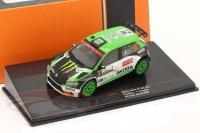 1:43 SKODA Fabia R5 EVO #27 WRC O.Solberg/A.Johnston Rally Monza 2020