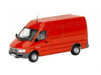 1:43 DODGE 2500 SPRINTER Van 2004 Flame Red