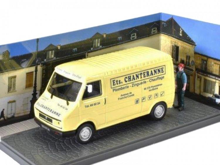"1:43 CITROEN C35 фургон ""Ets.Chanteranne"" 1980 Yellow"