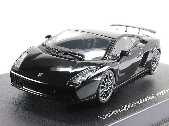 1:43 Lamborghini Gallardo Superleggera (metallic black)