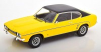 1:18 FORD Capri 2000 GXL Mк.1 1973 Yellow/Black