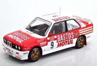 "1:18 BMW M3 (E30) #9 ""Bastos Motul"" Chatriot/ Perin Rally Tour de Corse 1988"