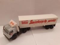 1:43 КАМский грузовик-5410 тент с полцприцепом Совинтеравтосервис