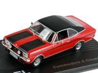 1:43 OPEL COMMODORE A COUPE GS/E 1970-1971 Red/Black