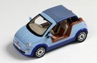 "1:43 FIAT 500 Tender Two ""Castagna Milano"" 2008 Light Blue/Blue"