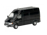 1:43 DODGE 2500 SPRINTER Van 2004 Metallic Black