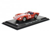 "1:43 MASERATI Tipo 61 ""Drogo"" #34 Reims Casner 1963"