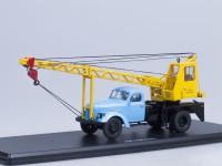 1:43 АК-75 (на шасси ЗИЛ-164), голубой/жёлтый