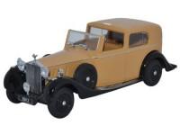 1:43 ROLLS ROYCE Phantom Ill SDV H.J Mulliner 1937 Beige/Black