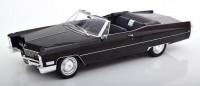 1:18 CADILLAC Deville Convertible 1968 Black