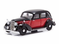 1:43 Humber Snipe Saloon - 1938 with 2 side windows (red / black)