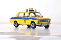"1:18 ВАЗ-2101 ""Жигули"" ГАИ Милиция 1982 желтый с синим (из к/ф ""Инспектор ГАИ"")"