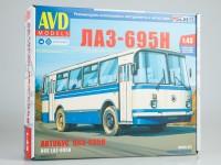 1:43 Сборная модель ЛАЗ-695Н