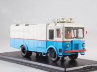 1:43 Грузовой троллейбус ТГ-3 (бело-голубой)