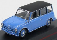 1:43 AWZ P70 Kombi 1957 Blue and Black roof