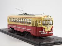 1:43 Трамвай МТВ-82, желтый / красный