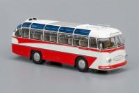 1:43 ЛАЗ 697Е Турист (1961-1963), бело-красный