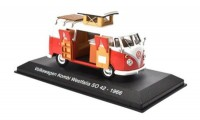1:43 кемпер VW T1 Westfalia SO42 1966 Red/White