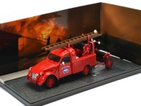 1:43 CITROEN 2CV Pick-Up AZU-B Sapeurs Pompiers (пожарный) 1960